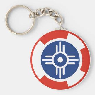 Wichita Air Squadron Roundel Keychain