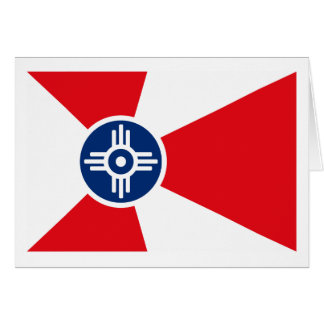 Wichita Flag Greeting Card