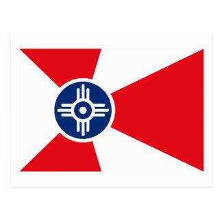 Wichita Flag Postcard