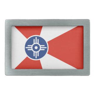 Wichita ICT Flag Belt Buckle