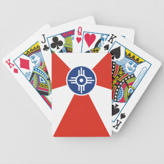 Wichita ICT Flag Bicycle Playing Cards