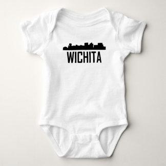 Wichita Kansas City Skyline Baby Bodysuit