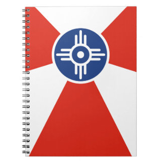 Wichita Kansas ICT Flag Notebook