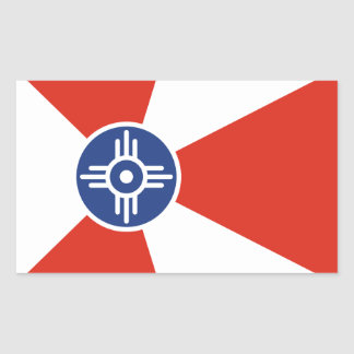 Wichita Kansas ICT Flag Sticker
