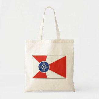 Wichita Kansas ICT Flag Tote Bag