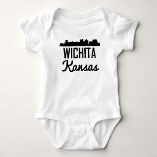 Wichita Kansas Skyline Baby Bodysuit