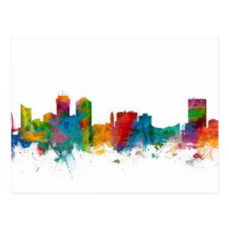 Wichita Kansas Skyline Postcard