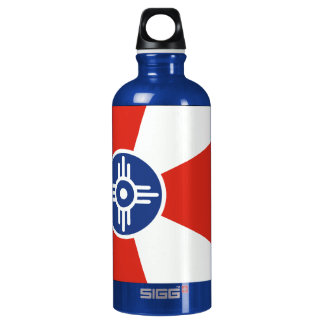 Wichita KS ICT Flag Water Bottle
