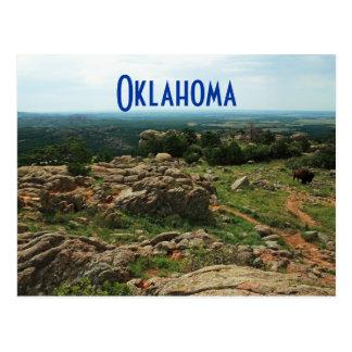 Wichita Mountains, Oklahoma Postcard