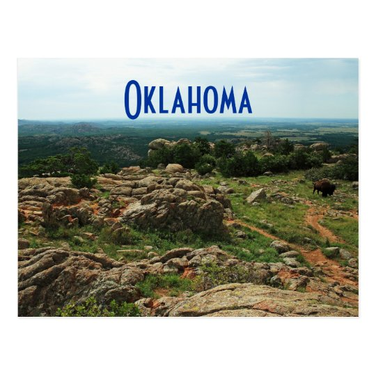 Wichita Mountains, Oklahoma Postcard
