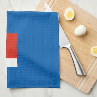 Wichita Red White and Blue Kitchen Towel