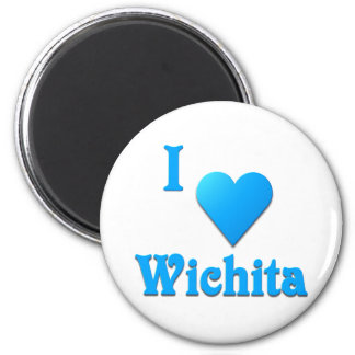 Wichita -- Sky Blue Magnet