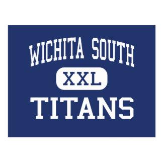 Wichita South - Titans - High - Wichita Kansas Postcard