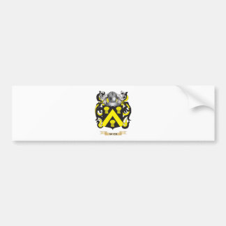 Wick Family Crest (Coat of Arms) Bumper Stickers