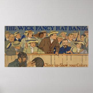 Wick Fancy Hat Bands Poster