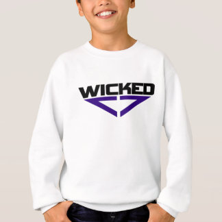 Wicked blue sweatshirt