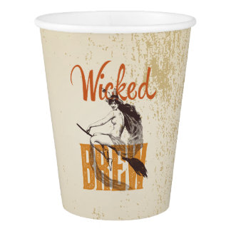 Wicked Brew Cups Paper Cup