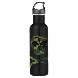 Wicked Camo Skull and Crossbones 710 Ml Water Bottle