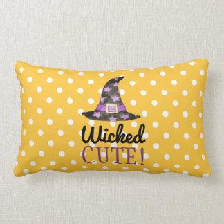 Wicked Cute Halloween Pillow