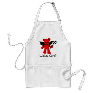 Wicked Cute Teddy Bear Apron