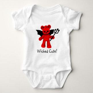 Wicked Cute Teddy Bear Baby Baby Bodysuit