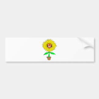 WICKED FLOWER BUMPER STICKER