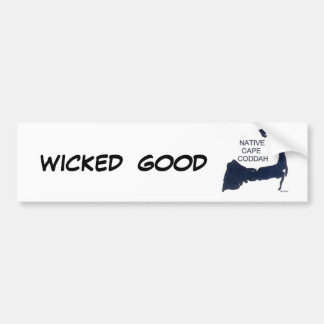 Wicked Good Bumper Sticker