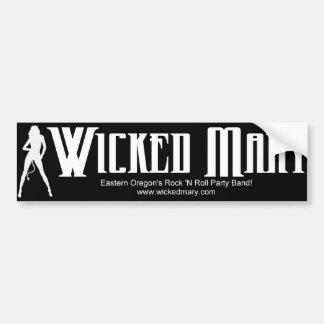 Wicked Mary Bumper Sticker