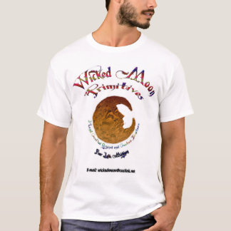 Wicked Moon color text T-Shirt