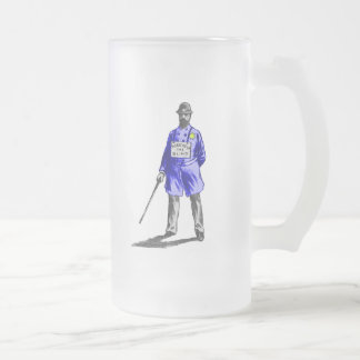 Wicked Portland frosted beer mug