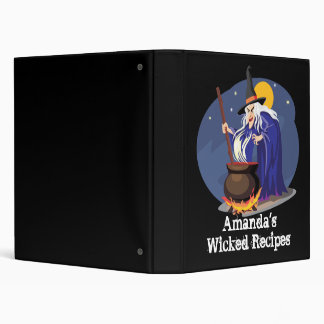 Wicked Recipe Book Binder