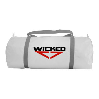 Wicked red gym bag