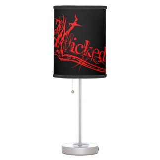 Wicked Red Table Lamp