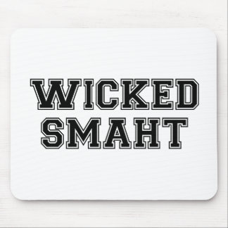 Wicked Smart (Smaht) College Boston Mouse Pad