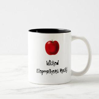WIcked Stepmothers Rock Two-Tone Coffee Mug