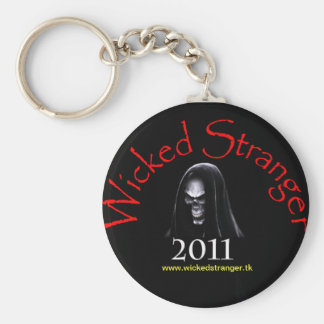 Wicked Stranger Keychain Black