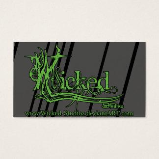 Wicked Studioz Business Cards SC
