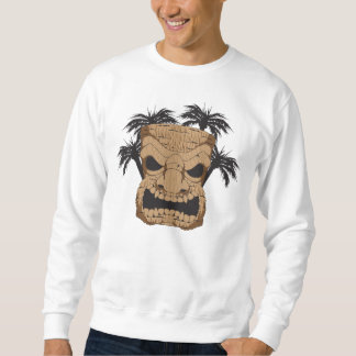 Wicked Tiki Carving Men's Sweatshirt