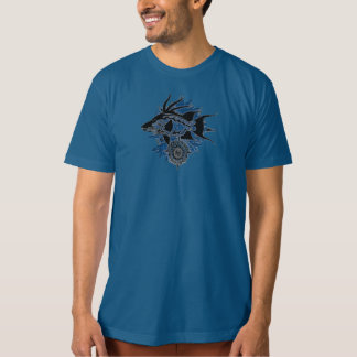Wicked Waters Hogfish & Snapper on Blue Seaweed T-Shirt