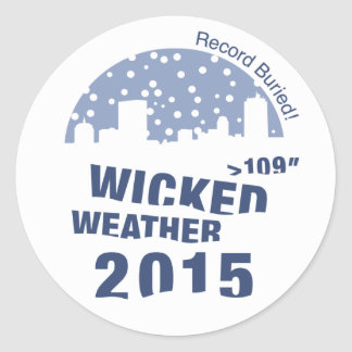 Wicked Weather 2015 - stickers 20 to a sheet