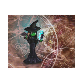 Wicked Witch Gallery Wrap Canvas