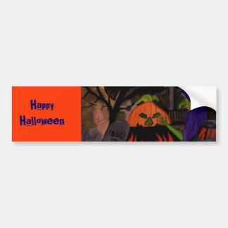 Wicked Witch of Halloween Bumper Sticker