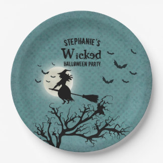 Wicked Witch Paper Plate