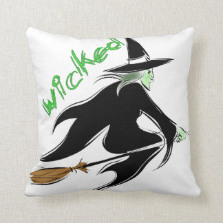 Wicked Witch Pillow! Throw Pillow