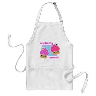 Wickedly Sweet Kawaii Cupcakes Apron