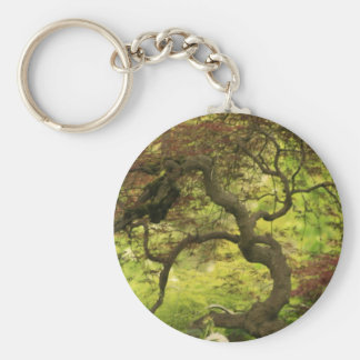 Wickedly Twisted Basic Round Button Keychain
