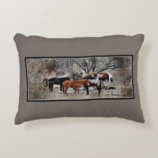 Wickenbury Horses Accent Pillow