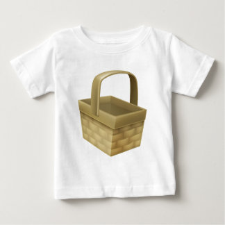 Wicker Basket Baby T-Shirt