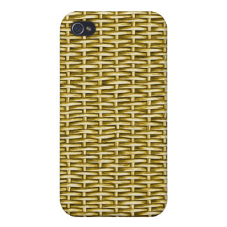 Wicker Basket Textured iPhone 4 Cover