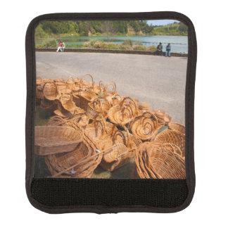 Wicker baskets for sale handle wrap